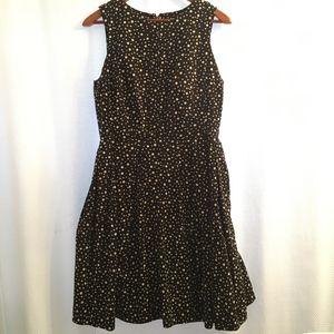 White House Black Market Polkadot dress